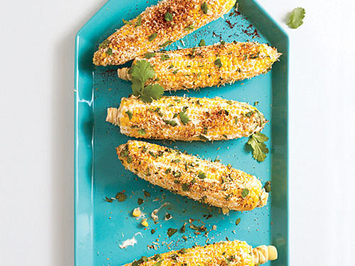 Corn with Chile-Cheese Mayo