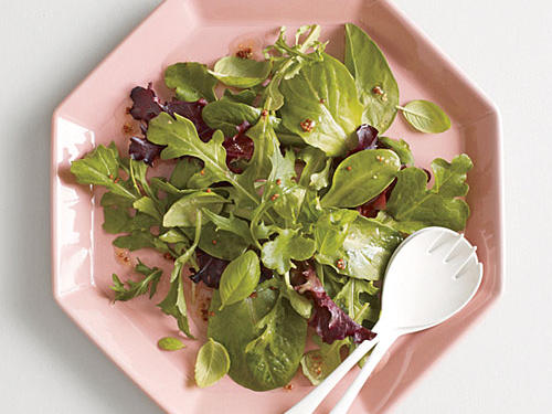 Herb Salad with Mustard Vinaigrette