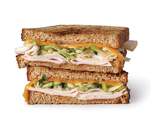 1405 MP: Grilled Turkey, Apple, and Cheddar Sandwiches