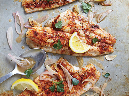 Clam Shack-Style Broiled Fish
