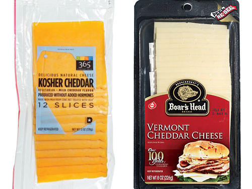 Taste Test: Cheddar Cheese