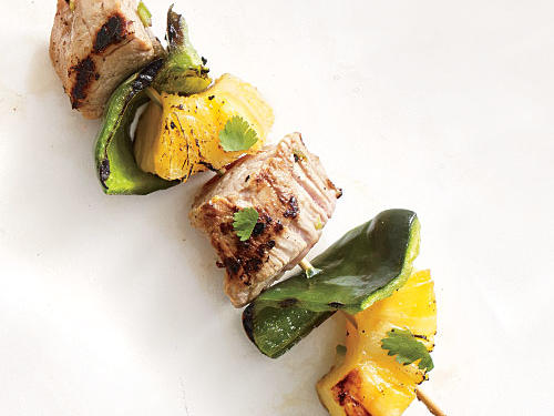 Pork and Pineapple Kebabs recipe