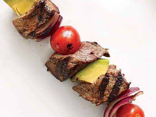Give your barbecue a southwest feel with these tasty treats. The avocado's creaminess is a pleasant texture contrast to grilled beef.