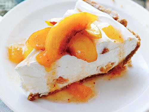 Delaware: No-Bake Peach Pie