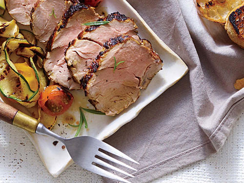 Herbaceous Grilled Pork Tenderloin