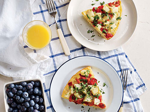 Serve this vegetarian egg dish for summer brunch with friends.