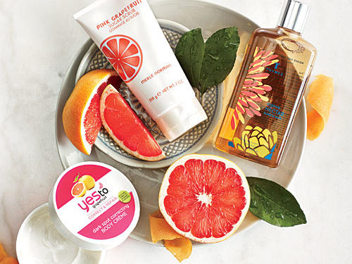 Grapefruit Beauty Products
