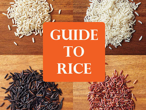 4 Tasty Types of Rice