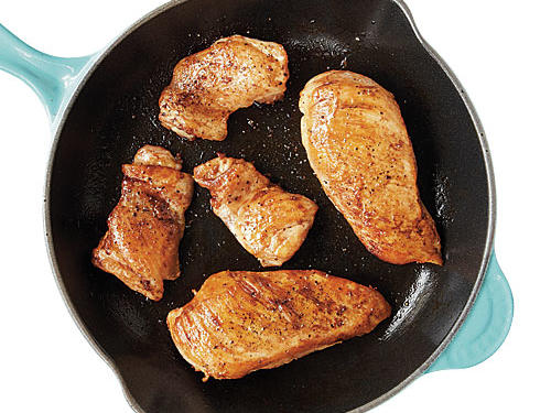 49. You always choose chicken breasts over thighs to save calories