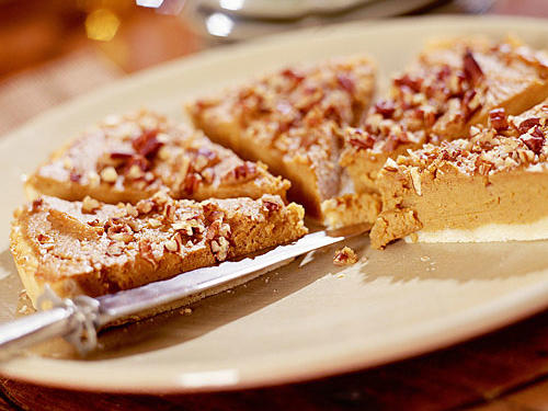 Sweet Potato-Bourbon Tart Recipe