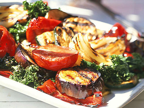 Grilled Vegetables with Balsamic Vinaigrette