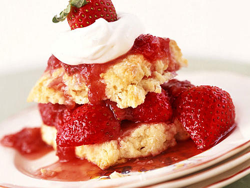 Our Old-Fashioned Strawberry Shortcakes pairs citrus-spiked strawberries with tender buttermilk shortcakes.