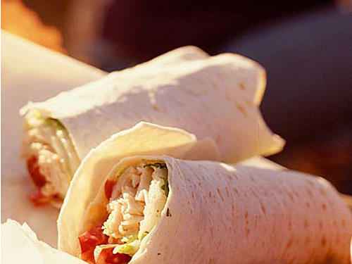 Lunch Option 2: Thai Chicken Wrap