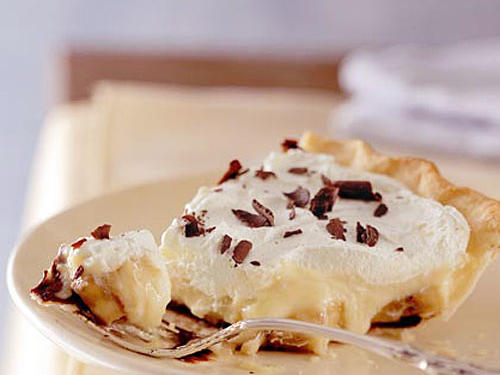 Black Bottom Banana-Cream Pie Recipe
