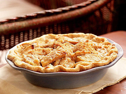 Caramel-Apple Crumb Pie