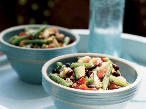 Top-Rated Vegetable Recipe: Zesty Three-Bean and Roasted Corn Salad