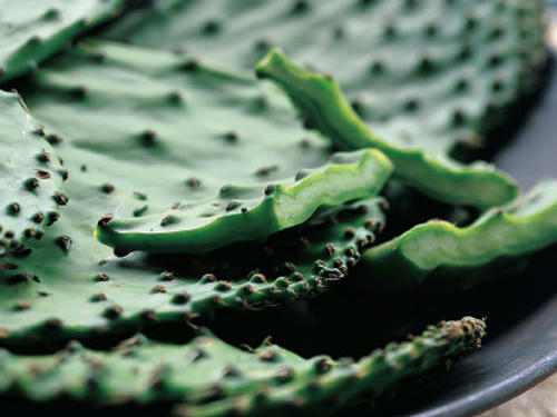 Long a stable of Mexican cooking, cactus is growing more popular north of the border--for tasty reasons.