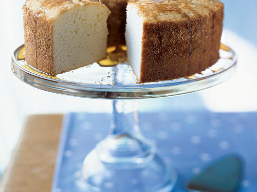 Lighter Sour Cream Pound Cake
