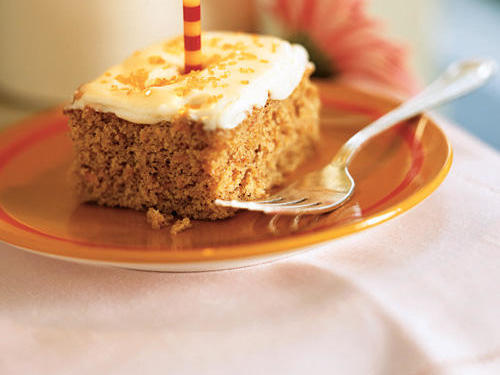 Carrot Sheet Cake with Cream Cheese Frosting