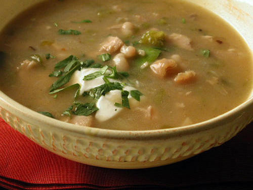 (5-Star) Chicken Green Chili with White Beans