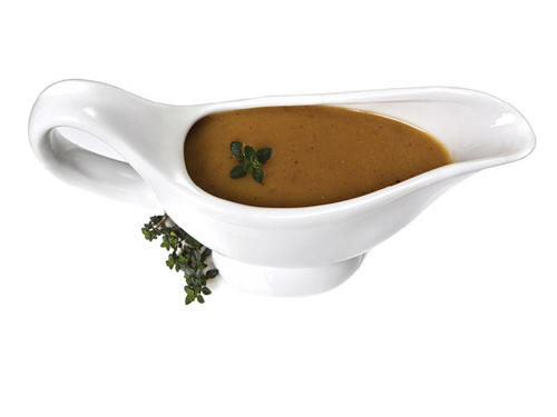 Regular Brown Gravy to Lightened Up Gravy