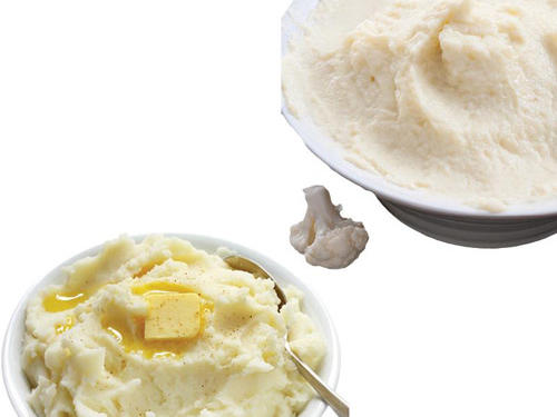 Mashed Potatoes to Mashed Cauliflower