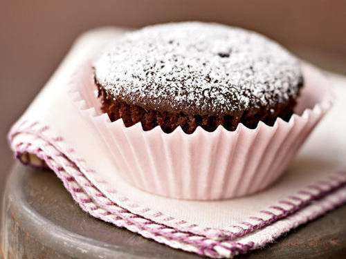 Quick and Healthy Double-Chocolate Cupcakes Recipe