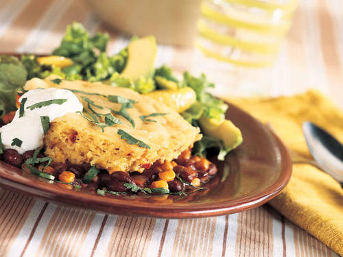 This meatless entrée will satisfy any healthy appetite.