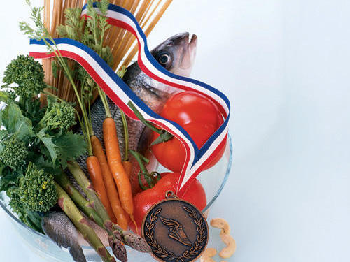 Eat To Win Medal