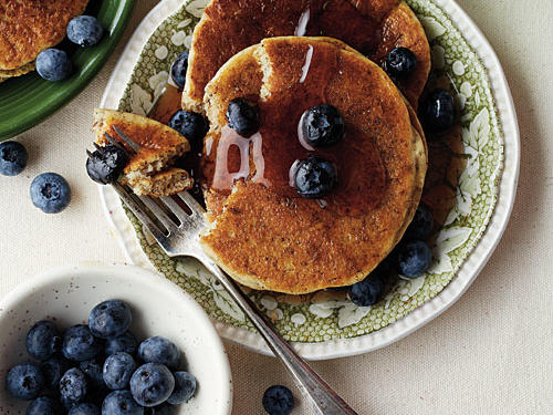 Flaxseed Buttermilk Pancakes