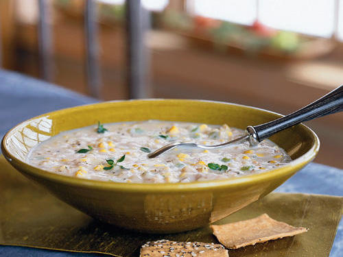 Quick Chicken-Corn Chowder Recipe