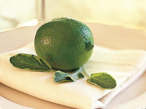 Lime on Plate - Place Setting Decoration