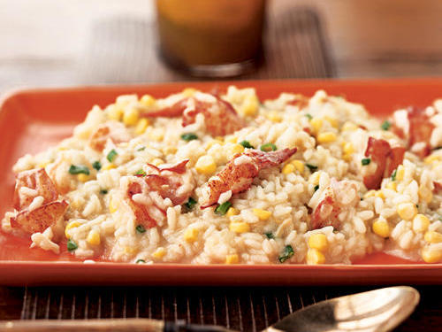 1204w Lobster and Corn Risotto