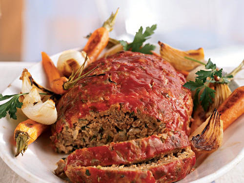 Classic Meat Loaf Healthy Recipe