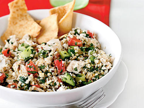 Chicken and Feta Tabbouleh Recipes