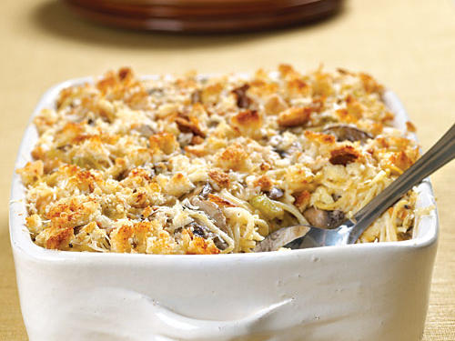100 Pasta Recipes: Chicken Tetrazzini