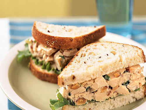 Rosemary Chicken Salad Sandwiches