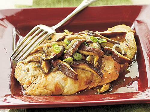 Chicken and Shiitake Marsala