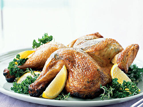 Dinner Tonight: Grilled Lemon-Herb Chicken