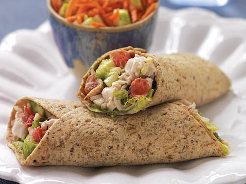 Turkey Cobb Salad Roll-Up