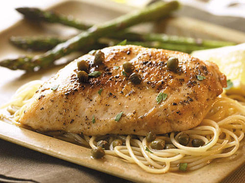 Chicken with Lemon Caper Sauce Recipes