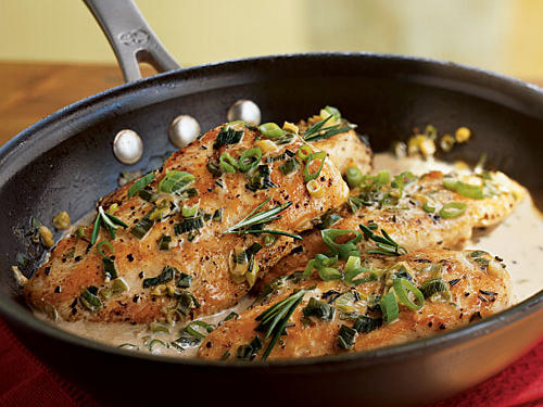 Chicken with Rosemary Sauce Recipes