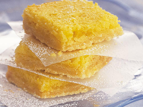 Whip up a batch of these easy lemon square recipe in a matter of minutes for a light picnic dessert that's deliciously sweet and tangy.