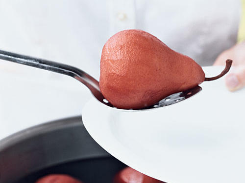 How to Make Poached Fruit: Remove and Cool