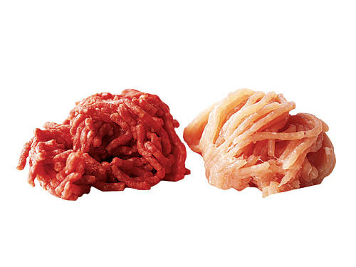 4. You trade ground turkey for ground beef in recipes to save sat fat.
