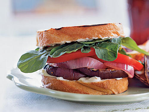 Use a sliced loaf of good-quality Italian bread; its dense texture stands up to grilling.