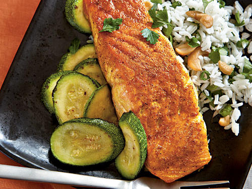 Indian-Spiced Salmon