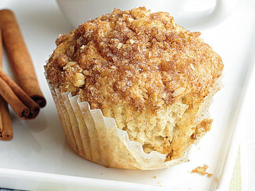 """These muffins smelled so good while they were cooking,"" said reader Brandi B. Frederick. ""The first words out of my mouth after the first bite were literally, 'Holy moly! These are amazing!!!' I haven't had real muffins in several years, so I tried them out on unsuspecting 'normal' folks. I took a dozen of them to some friends, and they went nuts over them. No one could tell they were gluten free. They were light and fluffy, flavorful, and exceptionally delicious."""