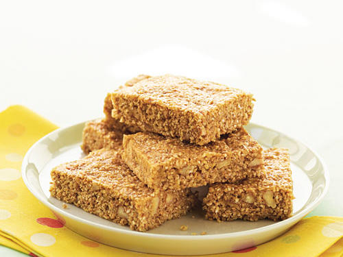 Banana-Nut Energy Bars