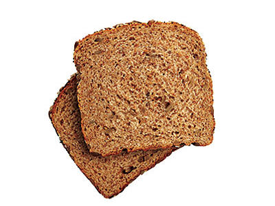 Whole Wheat Bread Sodium